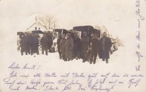 Австро-угорські солдати на Буковині