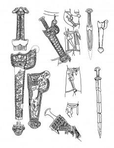 persian swords