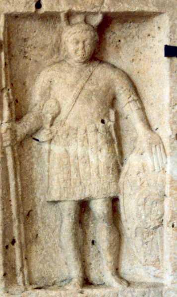 Солдат ІІ легіону Адіутрікс