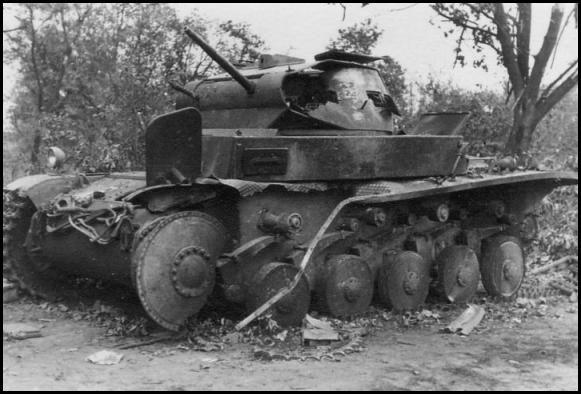 Підбитий під Мокрою танк Pzkfw II