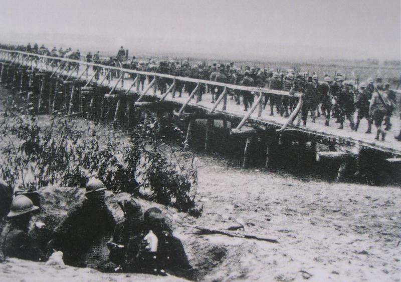 Виведення польських частин з Києва. 1920 р.
