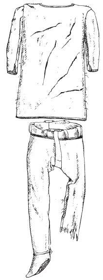 Туніка та штани з Торсбергу. III–IV ст.