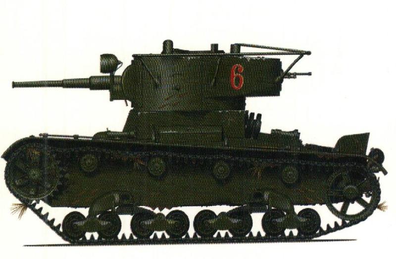 Танк Т-26, модель 1936 р.