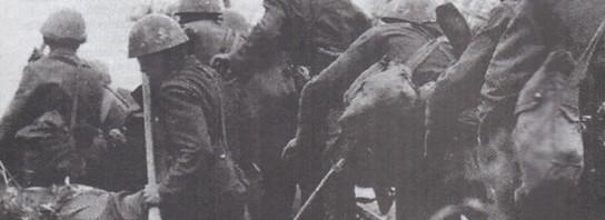Словаки переправляються через р. Сян. 1941 р.