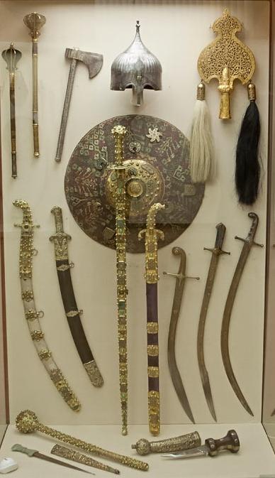 Турецька зброя XV–XVII ст. Державний Ермітаж, Санкт-Петербург.