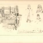 """Е. Кутцер """"Новий Почаїв. 4.ХІ.1915"""" З колекції А. Паласєвича"""