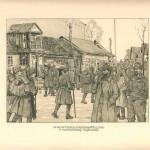 """Е. Кутцер """"Прибуття маршових батальйонів"""" З колекції А. Паласєвича"""