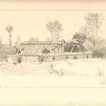"""Е. Кутцер """"Ляшки Муровані. 5 вересня 1916 р."""" З колекції А. Паласєвича"""