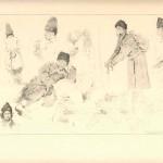 """Е. Кутцер. """"Типи робітників. 9.11.1915"""" З колекції А. Паласєвича"""