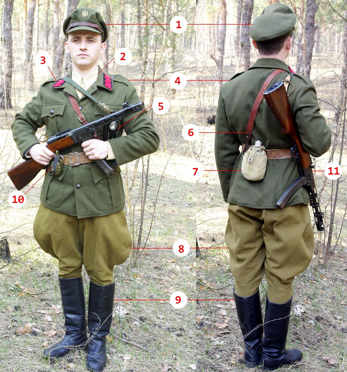 Стрільці Української повстанчої армії, УПА-Захід, Галичина, 1944 рік.