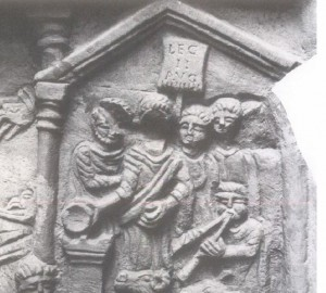 Vexillum Bridge distance slab Legio II Augusta