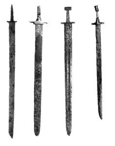 мечі, шаблі, палаші