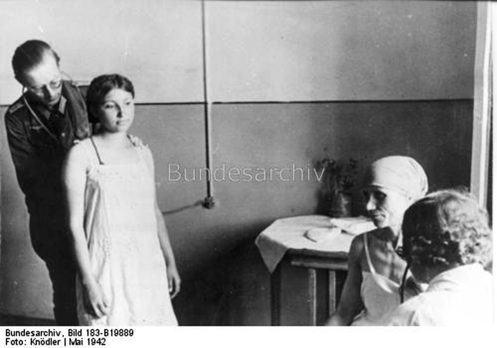 Медогляд перед відправкою до Німеччини