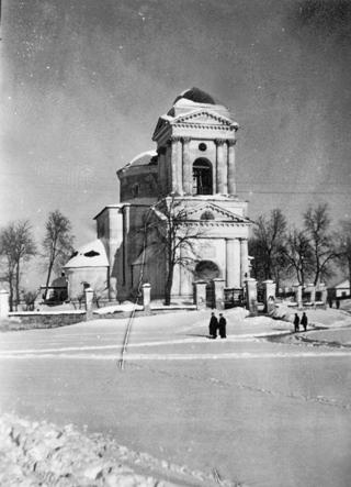 Покровська церква за часів окупації.  Фото  з фондів Ніжинського музею.