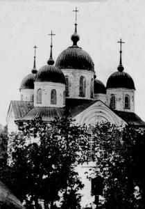 Церква Благовіщенського монастиря. Фото початку ХХ століття з фондів Ніжинського музею.