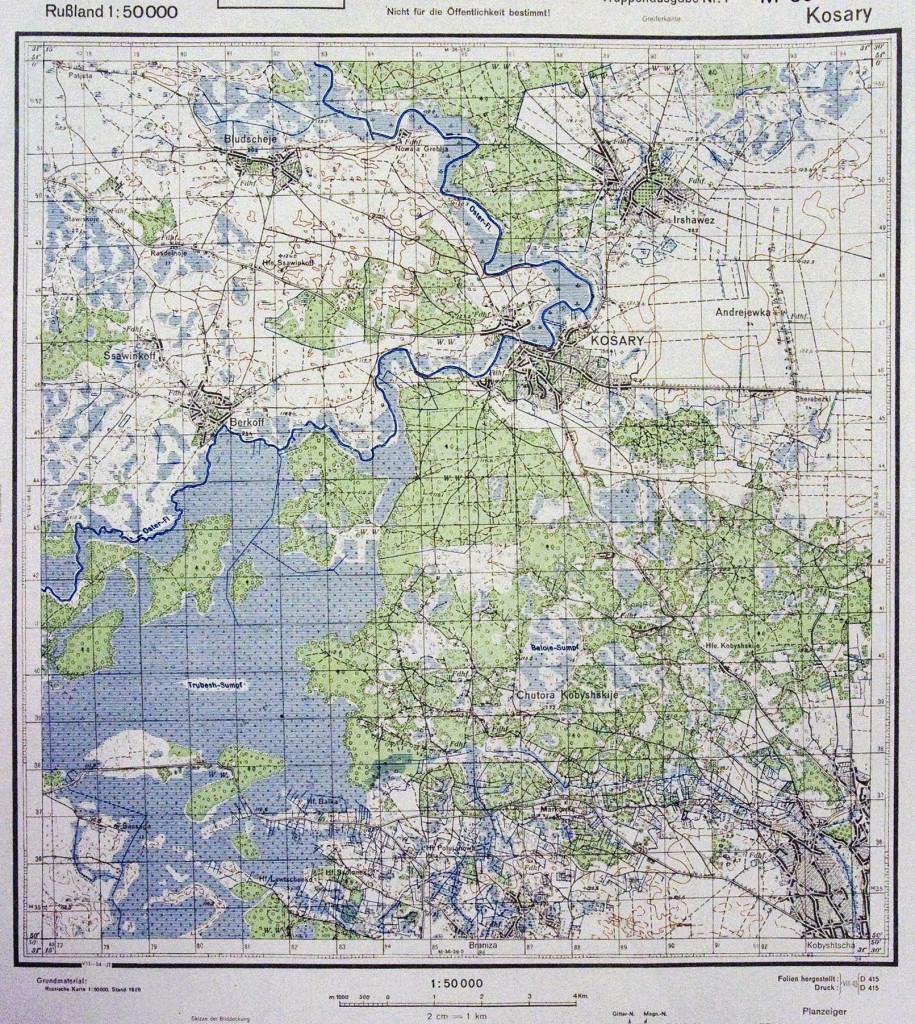 Мапа М-36-39-В.  Кобищанський ліс.
