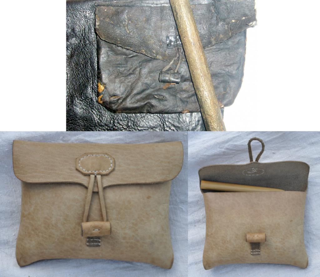 реконструкція козацького гаманця