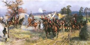 Картина Войцеха Коссака «Після битви під Зеленцями»