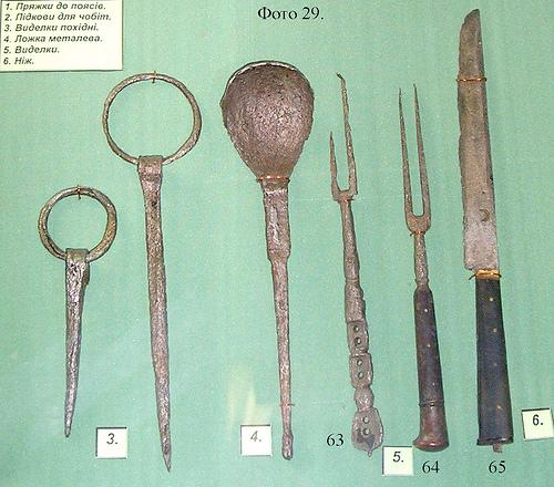 козацькі ложки і виделки