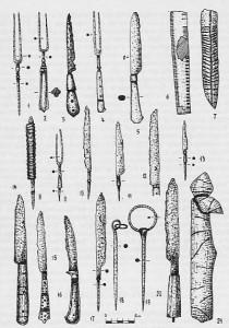 Свєшніков, ножі