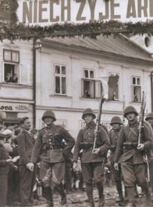 Військо Польське входить до Тєшинської Сілезії. 1938 р.