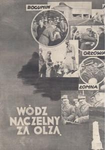 Маршал Е. Ридз-Смігли у Тєшинській Сілезії. Польський агітаційний плакат