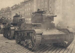 Польські танки входять до Тєшинської Сілезії. 1938 р.