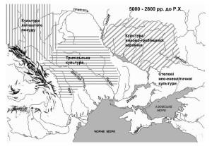 Культури нео-енеолітичного часу на території України [5]