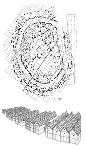 План поселення трипільської культури біля с. Майданецьке та реконструкція його укріплень [2]