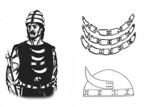 Маріупольський могильник. Знахідки і варіанти реконструкції захисного озброєння [4, 5]