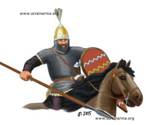 Польський князь. Перша третина ХІ ст. Малюнок автора