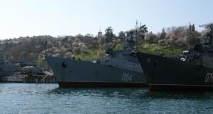 Кораблі Чорноморського флоту РФ. Фото 2011 р.