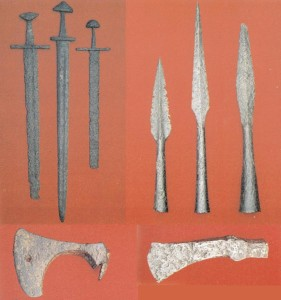 Польські мечі, списи і сокири. ХІ–ХІІ ст.