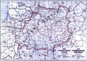 Мапа БНР