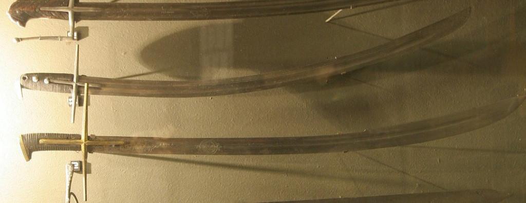 Рис. 20. Шаблі польсько-угорські, тип ІІ, XVII ст. (Музей Війська Польського, м. Варшава) [7]