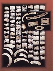 Панцирні пластини з Нижньої Мишлі, Словаччина. Фото http://www.krosno24.pl/