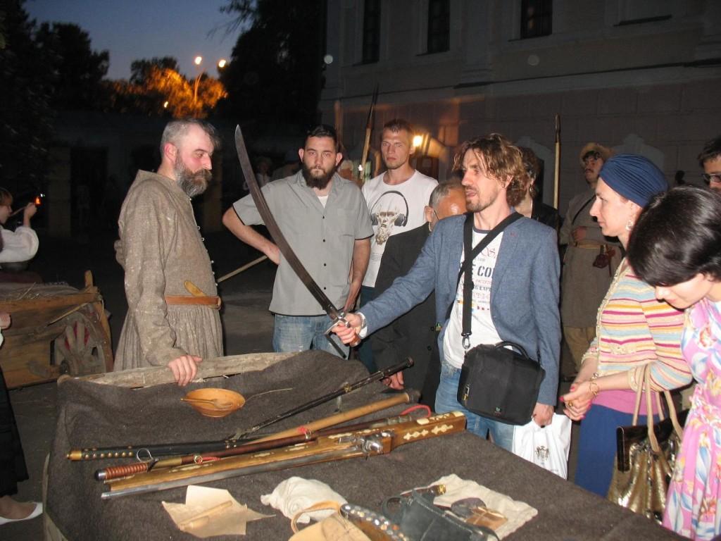 Презентація зброї і спорядження козаків