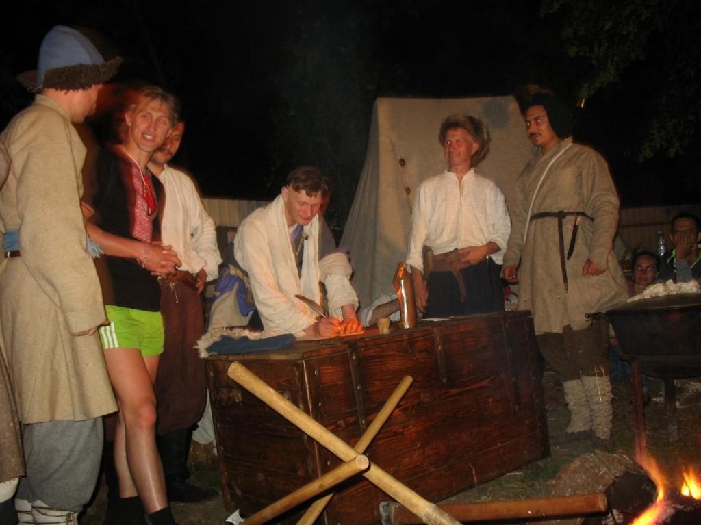 Запис відвідувачів заходу до козацького реєстру