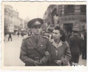 Лейтенант Петреску з дружиною
