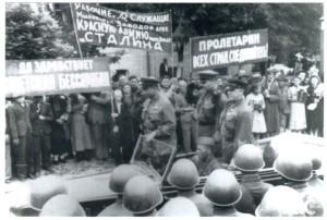 Генерал Г. Жуков у Бессарабії. Літо 1940 р.