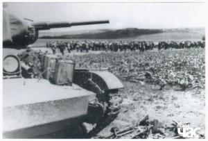 Радянський танк Т-26 у Бессарабії