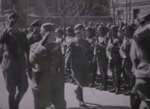 Парад угорських військ у Києві, 1942 р.