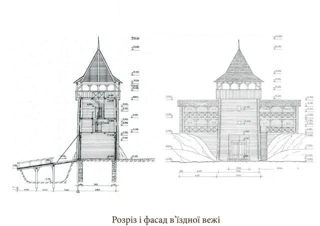 План вежі