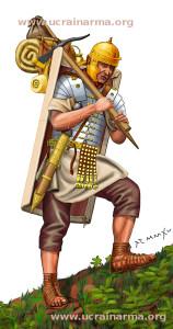 Римський легіонер. Друга половина І ст. від Р.Х.